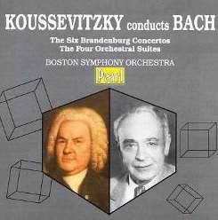 Boston Symphony Orchestra - Koussevitzky Conducts Bach flac album