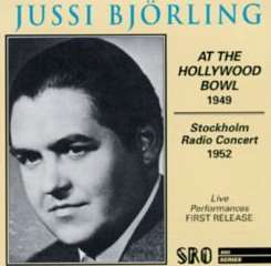 Jussi Björling - Jussi Björling at the Hollywood Bowl 1949 flac album