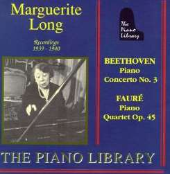 Marguerite Long flac album